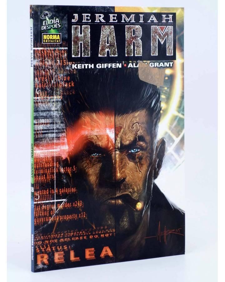 Cubierta de EL DÍA DESPUÉS 18. JEREMIAH HARM (Keith Giffen / Alan Grant) Norma 2007
