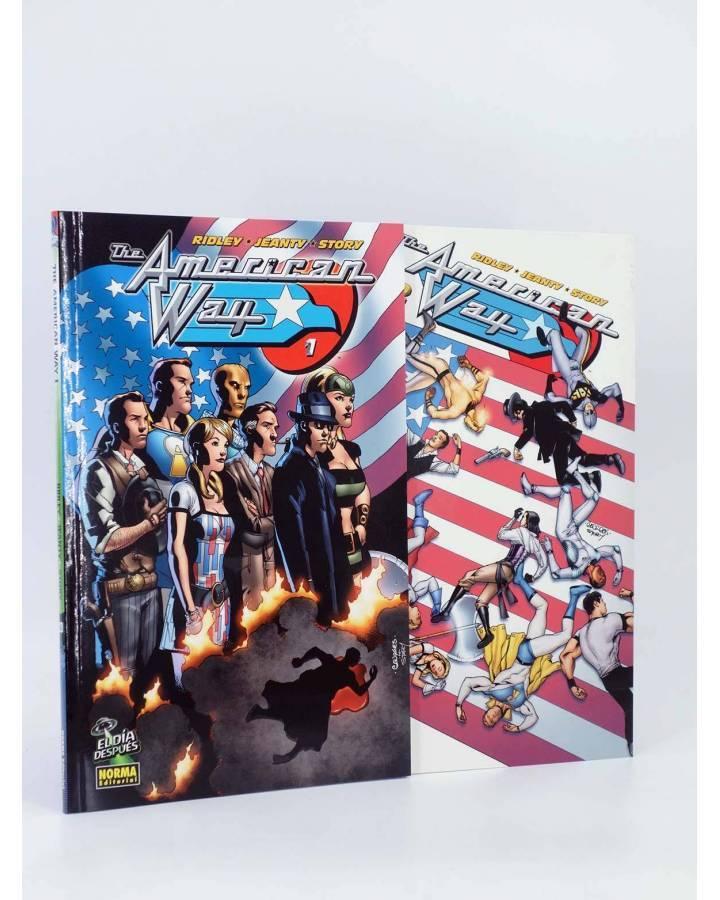 Cubierta de EL DÍA DESPUÉS 20 Y 21. AMERICAN WAY 1 Y 2 COMPLETA (Ridley / Jeanty) Norma 2007