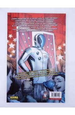 Contracubierta de EL DÍA DESPUÉS 20 Y 21. AMERICAN WAY 1 Y 2 COMPLETA (Ridley / Jeanty) Norma 2007