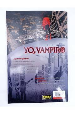 Contracubierta de MADE IN HELL 2 6 9 Y 13. YO VAMPIRO 1 AL 4 COMPLETA (Trillo / Risso) Norma 2005