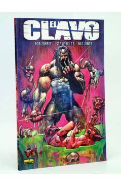 Cubierta de MADE IN HELL 15. EL CLAVO (Rob Zombie / Steve Niles / Nat Jones) Norma 2005