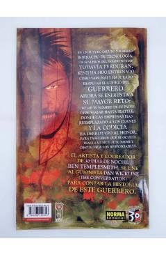 Contracubierta de MADE IN HELL 43. MANCHADA DE SANGRE (Don Wickline / Ben Templesmith) Norma 2007