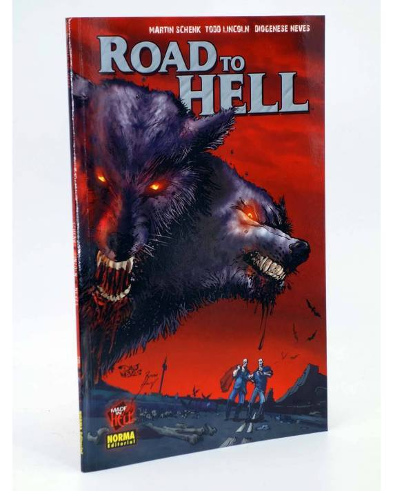Cubierta de MADE IN HELL 63. ROAD TO HELL (Schenk / Lincoln / Neves) Norma 2008