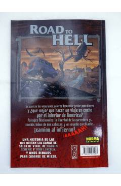 Contracubierta de MADE IN HELL 63. ROAD TO HELL (Schenk / Lincoln / Neves) Norma 2008