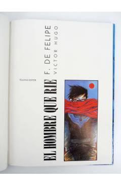 Muestra 7 de EL HOMBRE QUE RÍE + CUADERNO WOCETOS (Víctor Hugo / Fernando De Felipe) Toutain editor 1992
