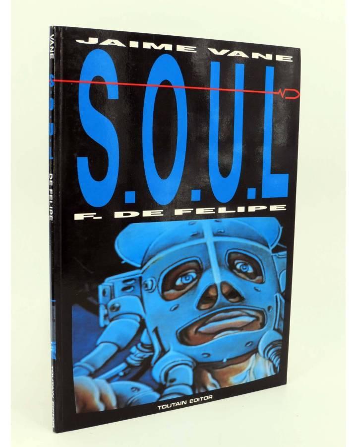 Cubierta de S.O.U.L. SOUL (Jaime Vane / Fernando De Felipe) Toutain editor 1991