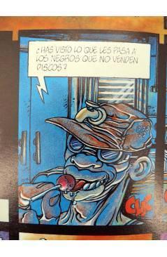 Contracubierta de S.O.U.L. SOUL (Jaime Vane / Fernando De Felipe) Toutain editor 1991