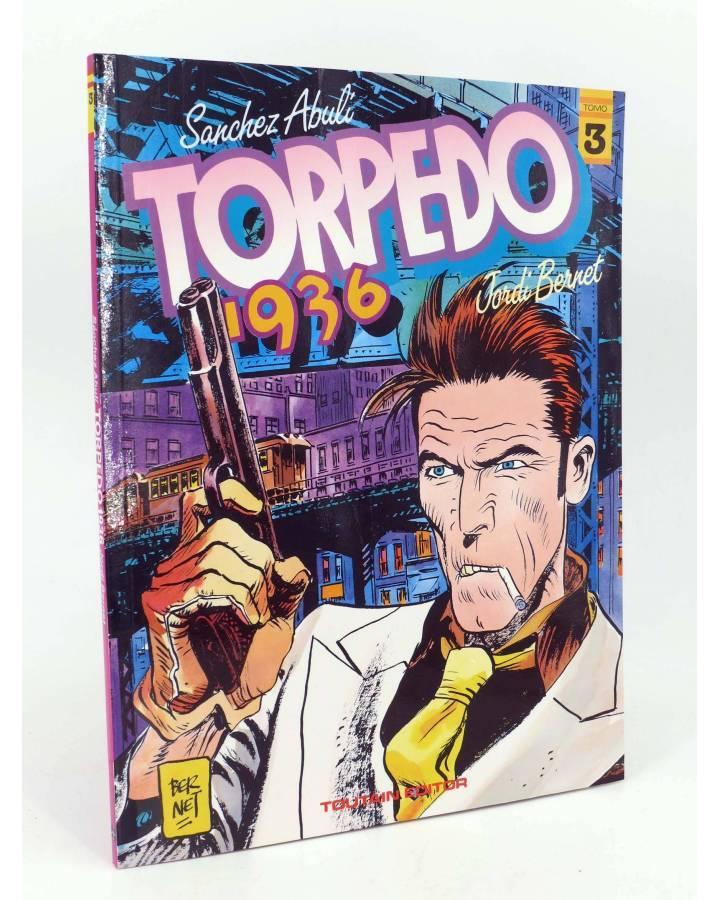 Cubierta de TORPEDO 1936 3 (Enrique Sánchez Abulí / Jordi Bernet) Toutain editor 1985