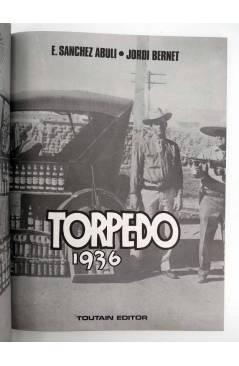 Muestra 6 de TORPEDO 1936 3 (Enrique Sánchez Abulí / Jordi Bernet) Toutain editor 1985