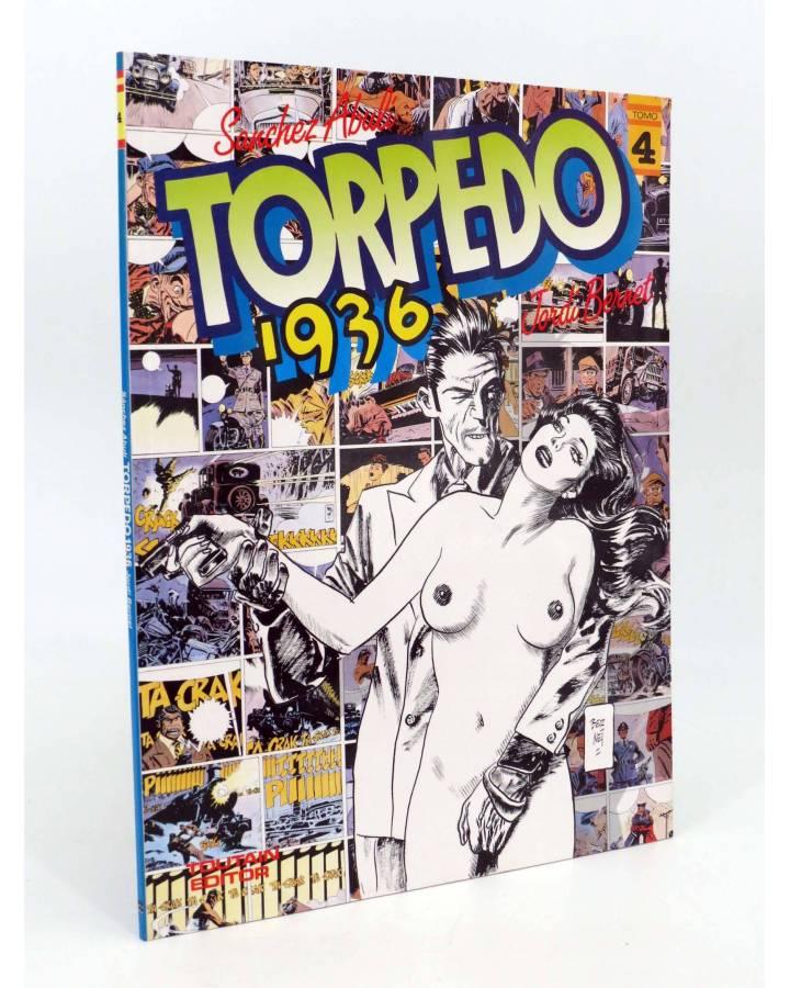 Cubierta de TORPEDO 1936 4. HISTORIA LARGA. COLOR (Sánchez Abulí / Jordi Bernet) Toutain editor 1986