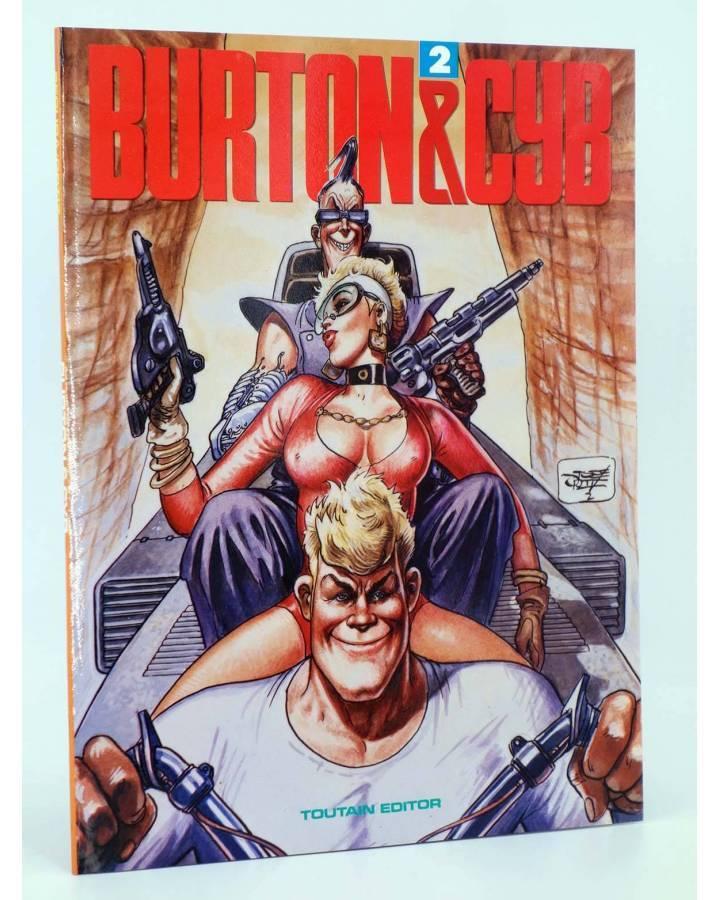 Cubierta de BURTON & Y CYB 2 (Antonio Segura / José Ortiz) Toutain editor 1989