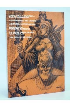 Contracubierta de BURTON & Y CYB 2 (Antonio Segura / José Ortiz) Toutain editor 1989