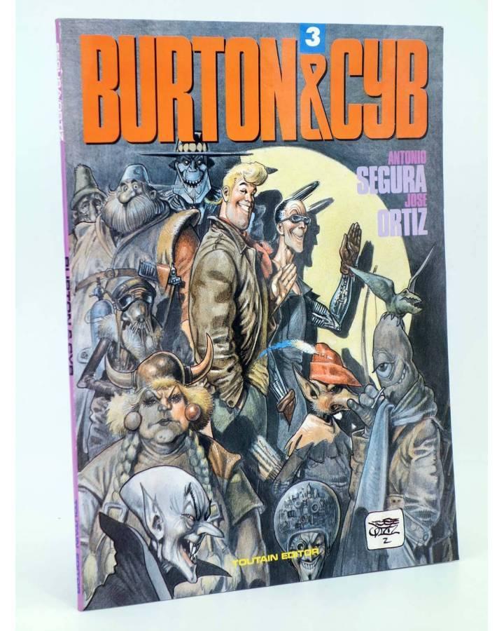 Cubierta de BURTON & Y CYB 3 (Antonio Segura / José Ortiz) Toutain editor 1990