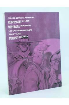 Contracubierta de BURTON & Y CYB 3 (Antonio Segura / José Ortiz) Toutain editor 1990