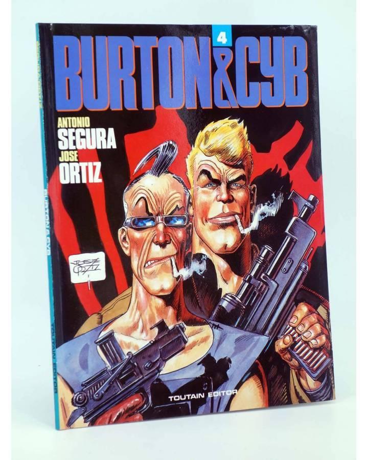 Cubierta de BURTON & Y CYB 4 (Antonio Segura / José Ortiz) Toutain editor 1991