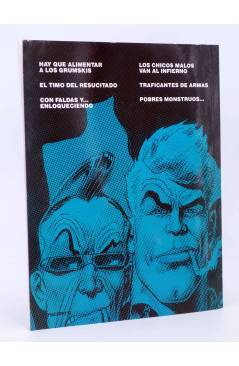 Contracubierta de BURTON & Y CYB 4 (Antonio Segura / José Ortiz) Toutain editor 1991