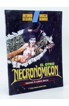 Cubierta de EL OTRO NECRONOMICÓN (Antonio Segura / Brocal Remohí) Toutain editor 1992