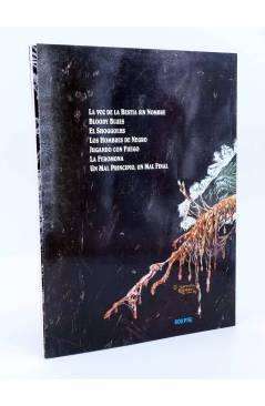 Contracubierta de EL OTRO NECRONOMICÓN (Antonio Segura / Brocal Remohí) Toutain editor 1992
