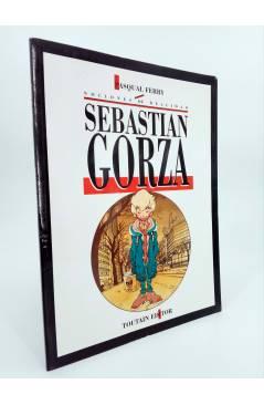 Cubierta de SEBASTIÁN GORZA. NOCIONES DE REALIDAD (Pasqual Ferry) Toutain editor 1991
