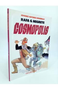Cubierta de JÓVENES AUTORES ESPAÑOLES 3. COSMÓPOLIS (Rafa G. Negrete. Intro: Azpiri) Toutain editor 1986