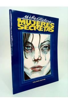 Cubierta de MUJERES SECRETAS (Mike Ratera) Toutain editor 1991