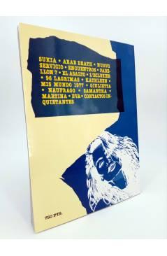 Contracubierta de MUJERES SECRETAS (Mike Ratera) Toutain editor 1991