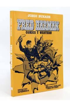 Cubierta de FRED HARMAN. COMICS Y WESTERN. BRONC PEELER Y RED RYDER (Jordi Buxadé) Toutain editor 1982