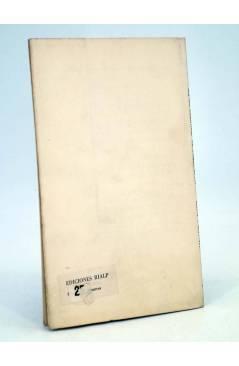 Contracubierta de O CRECE O MUERE 7. VALOR ACTUAL DEL HUMANISMO ESPAÑOL (Alexander A. Parker) Rialp 1956