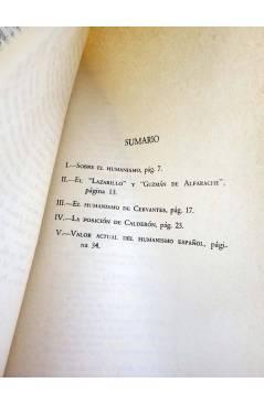 Muestra 1 de O CRECE O MUERE 7. VALOR ACTUAL DEL HUMANISMO ESPAÑOL (Alexander A. Parker) Rialp 1956