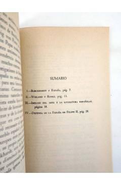 Muestra 1 de O CRECE O MUERE 10. ESPAÑA Y LA CONTRARREFORMA EN LA OBRA DE BURCKHARDT (Werner Kaegi) Rialp 1956