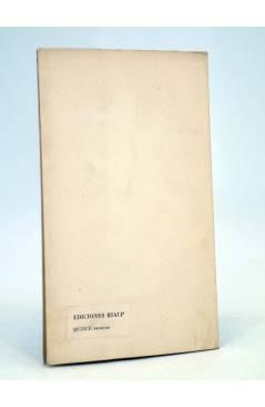 Contracubierta de O CRECE O MUERE 118. REFLEXIONES SOBRE EL FUTURO DEL DERECHO CIVIL (A Hernández Gil) Rialp 1958