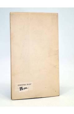 Contracubierta de O CRECE O MUERE 144. LA CONDICIÓN DEL INTELECTUAL EN EL MUNDO CONTEMPORÁNEO (G Marcel) Rialp 1960