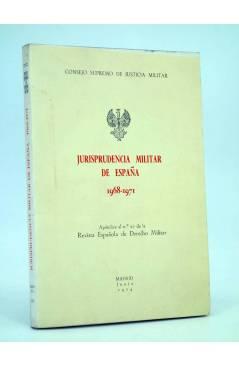 Cubierta de JURISPRUDENCIA MILITAR DE ESPAÑA 1968 – 1971 (Vvaa) Consejo Supremo de Justicia Militar 1974