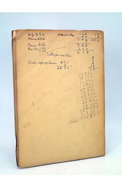 Contracubierta de EXCAVACIONES EN ATXETA. FORUA 1959 (José Miguel De Barandiarán) Diputación Provincial de Vizcaya 1960