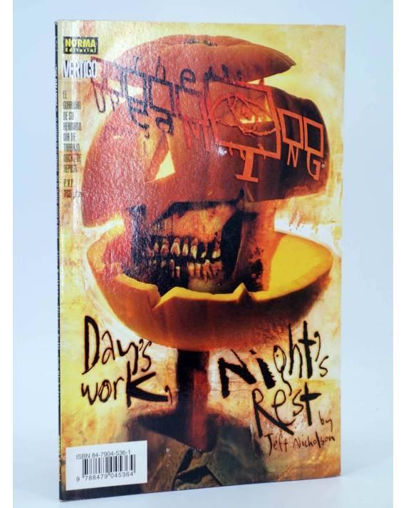 Cubierta de THE DREAMING. EL GUARDIAN DE SU HERMANO. DÍA DE TRABAJO NOCHE DE REPOSO (Vvaa) Norma 1998