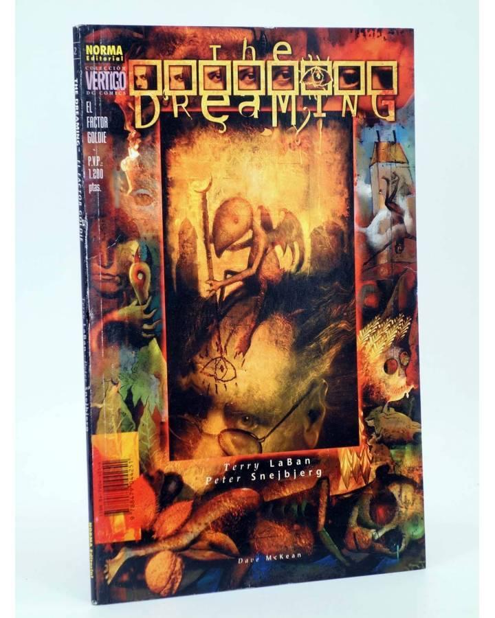 Cubierta de COL VERTIGO 2. THE DREAMING FACTOR GOLDIE (Peter Snejbjerg / Terry Laban) Norma 1997