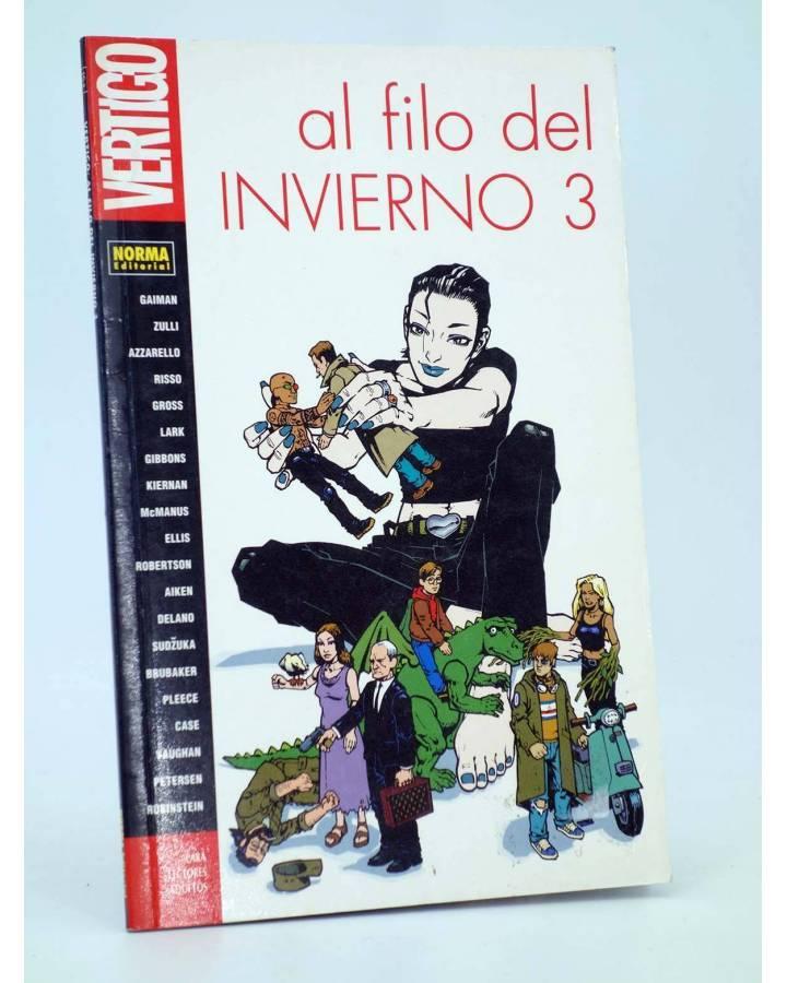 Cubierta de COL VERTIGO 154. AL FILO DEL INVIERNO 3 (Vvaa) Norma 2000