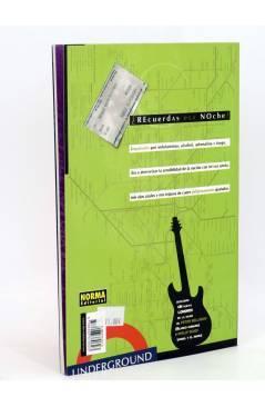 Contracubierta de COL VERTIGO 265. POP LONDON (Peter Milligan / Philip Bond) Norma 2004
