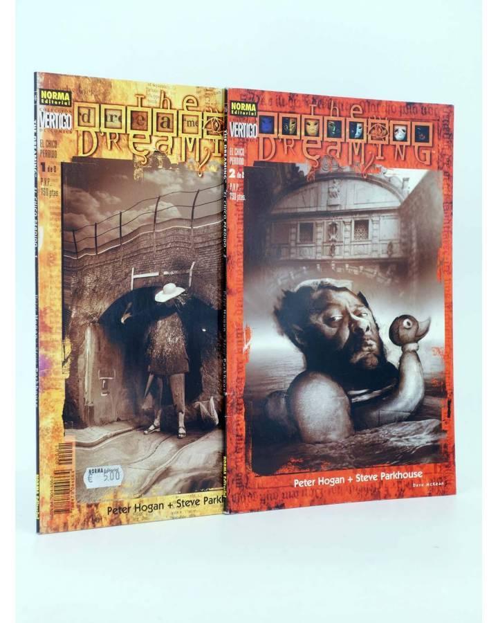 Cubierta de THE DREAMING EL CHICO PERDIDO 1 Y 2. COMPLETA (Peter Hogan Steve Parkhouse) Norma 1997