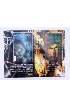 Contracubierta de THE DREAMING SOUVENIRS 1 Y 2. COMPLETA (Caitlin Kiernan / Peter Doherty) Norma 2001