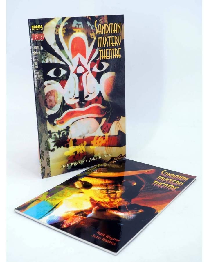 Cubierta de SANDMAN MYSTERY THEATRE LA CARA 1 Y 2. COMPLETA (Matt Wagner / John Watkiss) Norma 1999