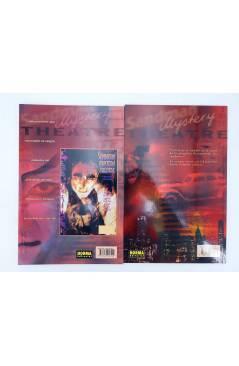 Contracubierta de SANDMAN MYSTERY THEATRE LA CARA 1 Y 2. COMPLETA (Matt Wagner / John Watkiss) Norma 1999