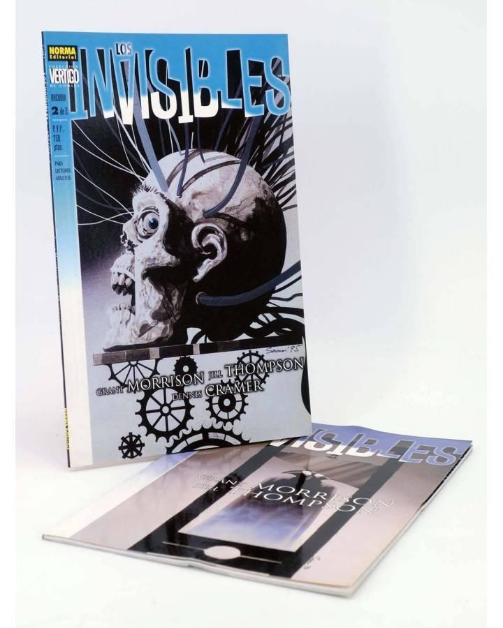 Cubierta de LOS INVISIBLES ARCADIA 1 Y 2. COMPLETA (Grant Morrison / Jill Thompson) Norma 2000
