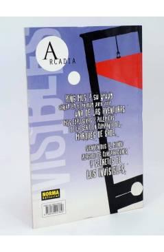 Contracubierta de LOS INVISIBLES ARCADIA 1 Y 2. COMPLETA (Grant Morrison / Jill Thompson) Norma 2000