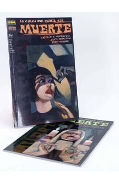 Cubierta de LA CHICA QUE QUERÍA SER MUERTE 1 Y 2. COMPLETA (K.R. Kiernan / Dean Ormston) Norma 2000