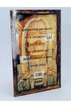 Contracubierta de LA CHICA QUE QUERÍA SER MUERTE 1 Y 2. COMPLETA (K.R. Kiernan / Dean Ormston) Norma 2000