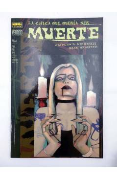 Muestra 1 de LA CHICA QUE QUERÍA SER MUERTE 1 Y 2. COMPLETA (K.R. Kiernan / Dean Ormston) Norma 2000