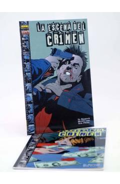 Cubierta de LA ESCENA DEL CRIMEN 1 Y 2. COMPLETA (Brubaker / Michael Lark / S. Philips) Norma 1999
