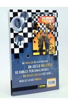 Contracubierta de BLANCO HUMANO 1 Y 2. COMPLETA (Peter Milligan / Edvin Biukovic) Norma 2000