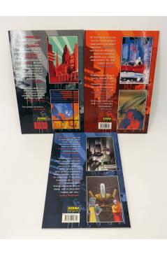Contracubierta de TERMINAL CITY 1 2 y 3. COMPLETA (Dean Motter / Michael Lark) Norma 1999